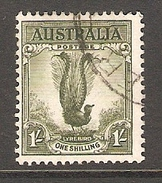 003382 Australia 1956 1/- FU - 1952-65 Elizabeth II : Pre-Decimals
