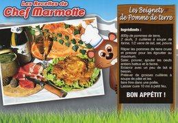 Recette De Chef Marmotte - Les Beignets De Pomme De Terre - Couteau Opinel - R 20 T - Editions SECA - TBE - Recipes (cooking)