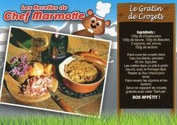 Recette De Chef Marmotte - Le Gratin De Crozets - Couteau Opinel - R 18 T - Editions SECA - TBE - Recipes (cooking)