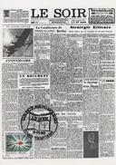 BELGIQUE 2529 FDC 1er Jour Carte Postale Journal Le Faux-Soir TINTIN HERGE KUIFJE COMICS BD Tamines - Comics