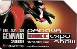 SCHEDA TELEFONICA USATA 1020 PADOVA BIKE - Public Practical Advertising