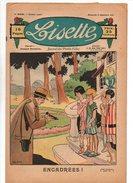 Lisette N°269 Encadrées - Pour Ma Petite Soeur - Les Quatre Soeurs - Loi Du Pays - Mademoiselle Girouette De 1926 - Lisette