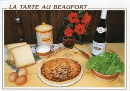 Recette - La Tarte Au Beaufort, Couteau Opinel - F. 972995 - Editions CELLARD - TBE - Recipes (cooking)