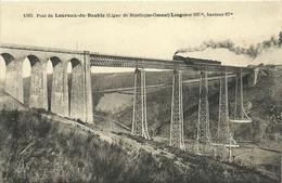 Pont De LOUROUX DE BOUBLE-(ligne Montlucon-Gannat) - France