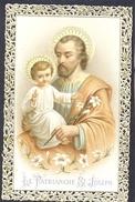 Heiligprentje(zeer Oud)  Le Patriarche St. Joseph - Devotieprenten