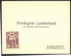 Privilegirte Landesbank Für Bosnien Und Hercegovina Sarajevo Preprinted Letter Cover Not Travelled B170420 - Bosnia And Herzegovina