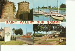 CPM SAINT VALERYSUR SOMME MULTIVUES - Saint Valery Sur Somme