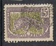 CONGO N°32b  Variété Défense De Gauche Tronquée - Französisch-Kongo (1891-1960)