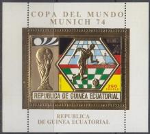 Sheet II, Equatorial Guinea Soccer, 1974 World Cup, FIFA 1 - Coppa Del Mondo