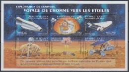 Sheet II, Malagasy Sc1541 Space Achievement, Venture Star, Viking, Mars Rover, Espace - Space