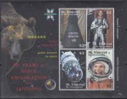 Sheet II, St. Vincent Sc3643 Space Exploration, Astronaut Yuri Gagarin, Espace, Astronaute