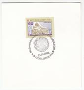 Croatia 2000 Lepoglava Lace Embroidery Special Postmark On Card B170420 - Textile