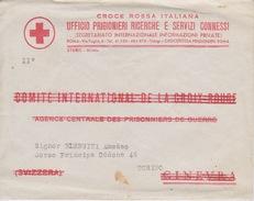 A/1 - CROCE ROSSA ITALIANA - UFFICIO PRIGIONIERI RICERCHE E SERVIZI CONNESSI - Croce Rossa