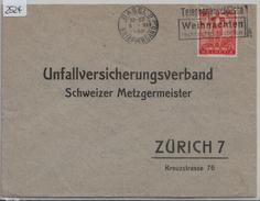 1936 Pro Patria Hodler W3/295 - Flamme: Weihnachten Basel (Schweizer Metzgermeister) - Blocs & Feuillets