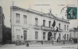 CPA - FRANCE - Uzès Est Situé Dans Le Départ. Du Gard - Hotel De Ville - Daté 1909 - BE