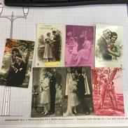 17N/1 - Lot Couple Mariage .... - Cartes Postales