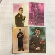 17N/1 - Lot Homme - Cartes Postales