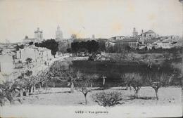CPA - FRANCE - Uzès Est Situé Dans Le Départ. Du Gard - Vue Générale - Daté 1908 - TBE