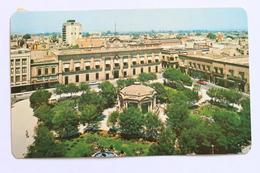 Jardin Hidalgo Y Palacio De Gobierno / Hidalgo Garden And Government Palace, San Luis Potosi, S.L.P. Mexico - México