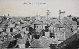 CPA - FRANCE - Uzès Est Situé Dans Le Départ. Du Gard - Vue Générale - TBE