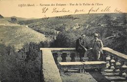 CPA - FRANCE - Uzès Est Situé Dans Le Départ. Du Gard - Terrasse Des Evêques - Vue De La Vallée De L'Eure - 1925 - TBE