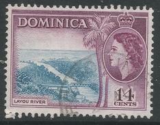 Dominica. 1954-62 QEII. 14c Used. SG 152 - Dominica (...-1978)