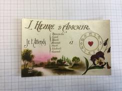 17N/1 - Amour L'heure De - Cartes Postales
