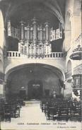 CPA - FRANCE - Uzès Est Situé Dans Le Départ. Du Gard - La Cathédrale Intérieur - Les Orgues - Daté 1915 - TBE