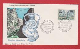 Réunion  --  Premier Jour  -  Ste Marie  --  15 Aout 1965 - Stamps