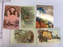 17N/1 - Cartes Avec Cloches - Cartes Postales