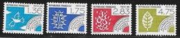 N° 198 A 201  FRANCE  -  PREOBLITERES  -  NEUF  -  LES 4 ELEMENTS  -  4 VALEURS - 1964-1988