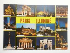 Postcard Les Merveilles De Paris Monuments Illumine Paris My Ref B21078 - Monuments