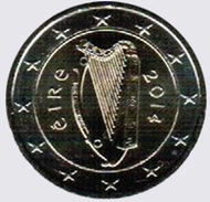 IRLANDA 2 Euro 2014  Da Serie Annuale FDC - Irlanda
