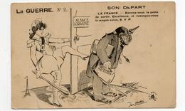 La Guerre - Son Depart - Alsace/lorraine - Humour