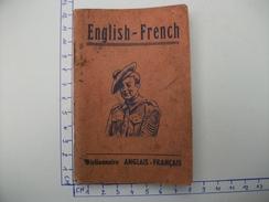 Dictionnaire De Poche Militaire  ENGLISH FRENCH - Livres, Revues & Catalogues