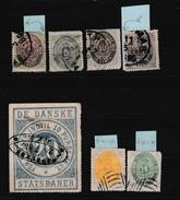 Antilles Danoises Et T Statsbaner (9 Et 12 Reproduction)