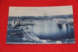 Trieste Faro E Veduta Del Porto - Trieste