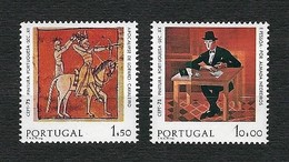 PORTUGAL 1975 - Europa, Dipinti - 1,50 / 10,00 - MNH - Yv:PT 1261-62 - Nuovi