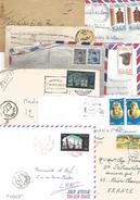 EGYPTE LOT DE LETTRES ET CARTES DIVERSES - Stamps