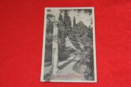 Aquileia Giardino Del Museo Con Urne 1914 - Altre Città