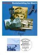 """BRD Maximumkarte """"75.Jahrestag Des Ersten Nordatlantikflugs In Ost-West-Richtung """" Mi 2331 ESSt 10.4.2003 BERLIN ZENTRUM - Maximum Cards"""