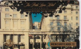 Mercury, MER089, Park Lane Hotel - 20 MERC, Unused, 2 Scans