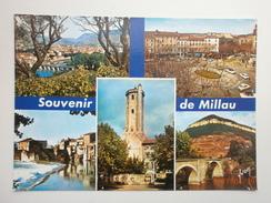 Postcard Millau Aveyron Multiview My Ref B21084 - Millau