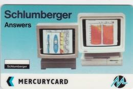 Mercury, MER165, Schlumberger - Answers, Unused, 2 Scans