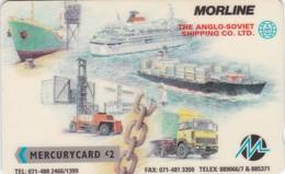 Mercury, MER240, Morline - Anglo-Soviet Shipping, 2 Scans  CN : 20MERC