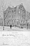 Gruss Aus WURZEN   -  Ecole Tochter Sous La Neige - 1899 - Unclassified