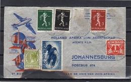 Crash Mail, Rampbrief 19-1-1940 (two Stamps Off) > Johannesburg (eh4) - Periode 1891-1948 (Wilhelmina)