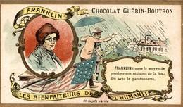 Chromos CHOCOLAT  GUERIN BOUTRON   FRANKLIN - Guerin Boutron