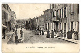 LAVELANET - LA RUE SAINT-SERNIN - Lavelanet