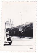 26196 Deux 2 Photo Debut Guerre Fevrier 1940 -soldat Train  Cheval -Rennes Le Pont Rue De Nantes ? 35 Militaire